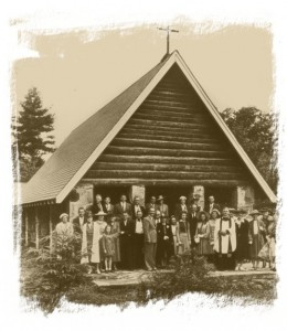 Chapel circa 1938 (Click on image for larger view)